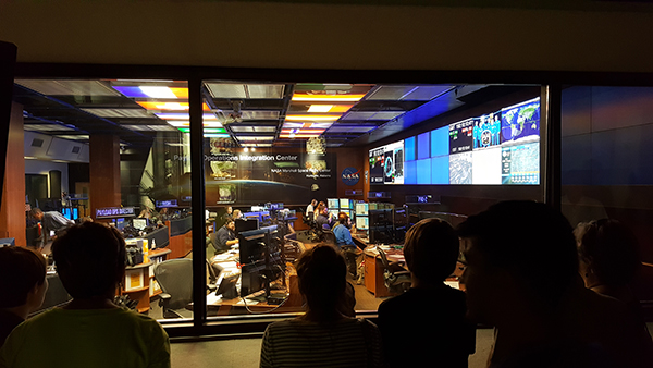 The MSFC Payload Operations Integration Center is responsible for science, research and technology support for the International Space Station. The U.S. Space & Rocket Center tour guide highlights the different roles within the command center, whom the astronauts call when they need help with the science experiments, and different types of research conducted on the International Space Station.